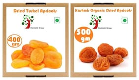 Combo Dried Apricots A Grade 500 g & Turkish Dried Apricots 400 Gms