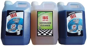 COMBO PACK :2 L BOWL CLEANER & 1 L BATHROOM CLEANER -COLOGNE PERFUME . TOTAL 3 L