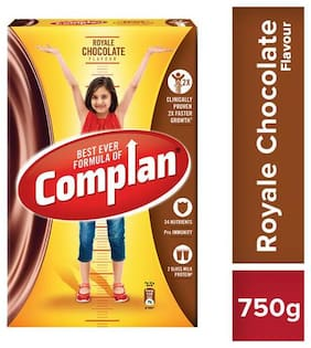 Complan Growth Drink Mix - Royale Chocolate Flavour 750 g