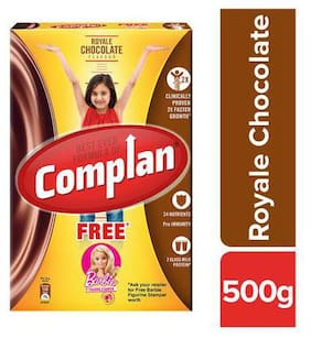 Complan Royale Chocolate Flavour - Growth Drink Mix 500 g