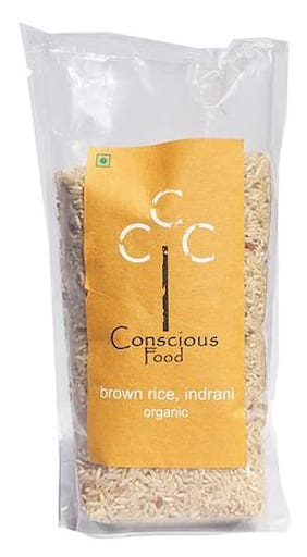 Conscious Food Brown Rice Indrani 500 gm