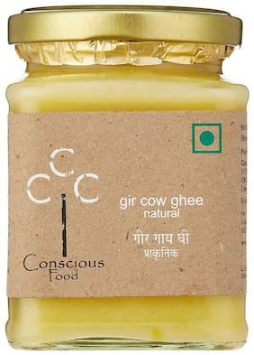 Conscious Food Gir Cow Ghee 200g In Reusable Glass Jar