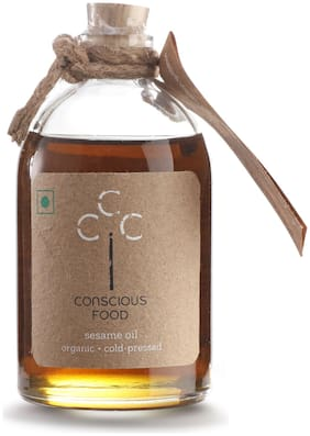 Conscious Food Sesame Oil 100 ml (Pack Of 2)