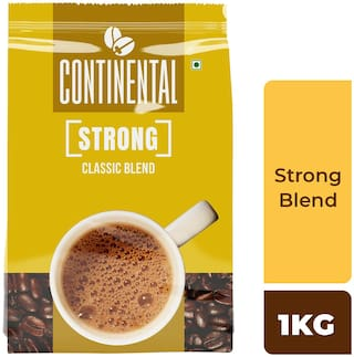 Continental Strong Instant Coffee Powder 1 kg Pouch