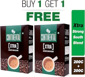 Continental XTRA Instant Coffee Powder 200g Bag in Box ( BUY 1 + GET 1 FREE )