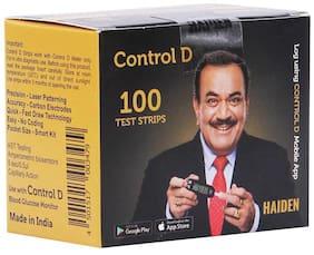 Control D 100 Glucometer Test Strips/Sugar Test Strips