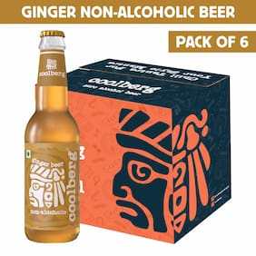 Coolberg Ginger Non Alcoholic Beer  330ml (Pack of 6)