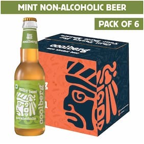 Coolberg Mint Non Alcoholic Beer  330ml (Pack of 6)
