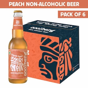 Coolberg Peach Non Alcoholic Beer  330ml (Pack of 6)