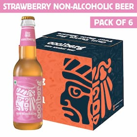 Coolberg Strawberry Non Alcoholic Beer  330ml (Pack of 6)