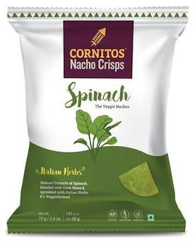 Cornitos Nachos - Spinach 70 g