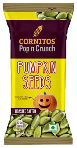 Cornitos Pumpkin Seeds - Roasted 30 gm