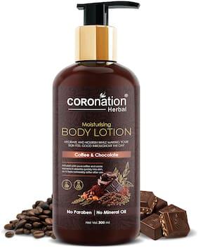 COROnation Herbal Coffee & Chocolate Moisturising Body Lotion - 300 ml
