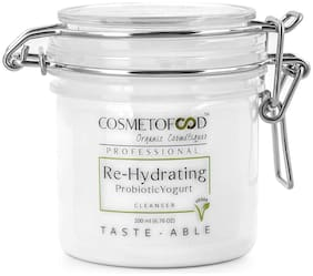 Cosmetofood Professional Re-Hydrating Probiotic Yogurt Face Cleanser (200 ml)