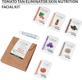 Cosmetofood Professional Tomato Tan Eliminator Skin Nutrition Facial Kit 35 ml For Men And Women (Pack Of 1)