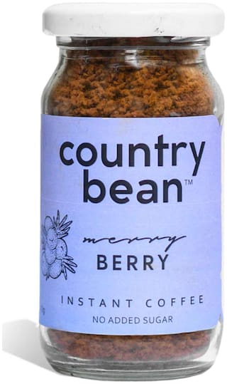 Country Bean/Berry Flavoured Instant Coffee -60g