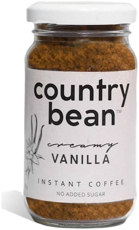 Country Bean/Vanilla Flavoured Instant Coffee -60g
