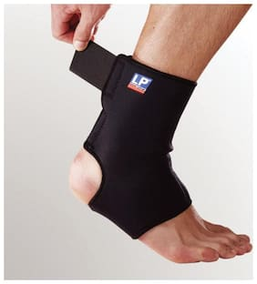 Cratos Breathable Neoprene Adjustable Ankle Support Wrap and Stabilizer