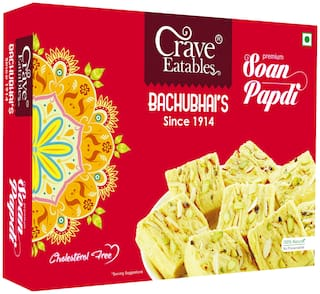Crave Eatables Bachubhai's Soan Papdi (Pack of 1)