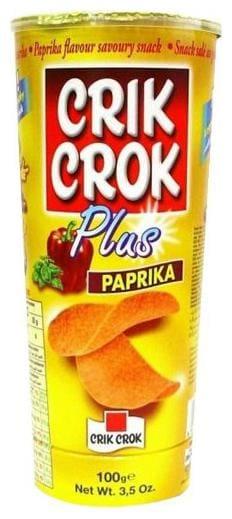 Crik Crok Plus Chips - Paprika 100 gm