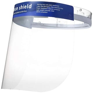 Crystal Digital Face Shield (Pack of 5)
