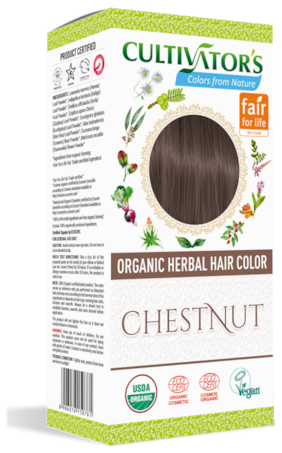 Cultivator's Organic Herbal Hair Color Chestnut