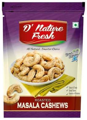 D'nature Fresh Kaju Roasted Masala Tandoori Pouch 250 G (Pack Of 2)