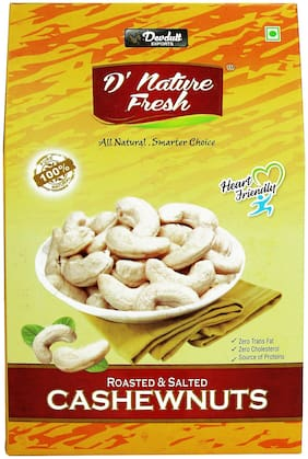 D' Nature Fresh Rosted And Salted Cashewnuts 200 Gm Pack Of 1