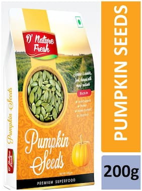 D'nature Fresh Pumpkin Seeds 100g