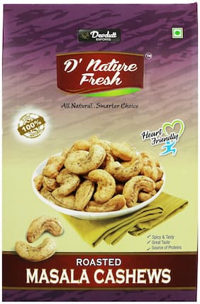 D NATURE FRESH MASALA CASHEW WITH BLACK PEPPER 250 g BOX