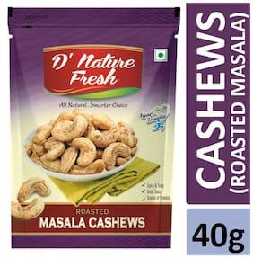 D'nature Fresh Roasted Tandoori Masala Cashews 40g