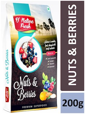 D'nature Fresh Nuts & Berries 200g