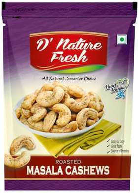 D' Nature Fresh Roasted Masala Cashew With Black Pepper