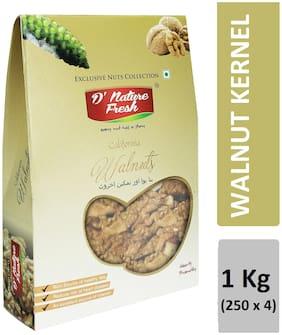 D'nature Fresh Walnut Kernel 250 g (Pack of 4)
