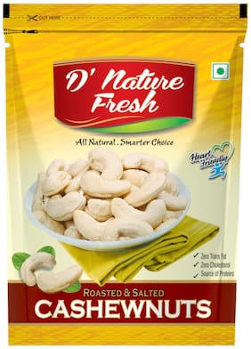D' Nature Fresh Roasted And Salted Cashewnuts -250 Gm