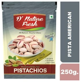 D'NATURE FRESH ROASTED SALTED PISTACHIOS