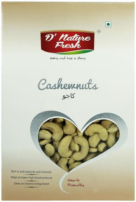 D NATURE FRESH CASHEW RAW 250 g WINDOW BOX