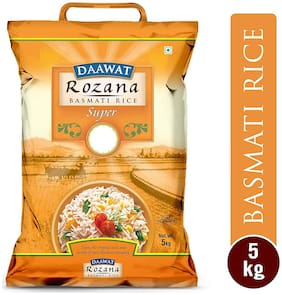 Daawat Basmati Rice Rozana Super 5 kg