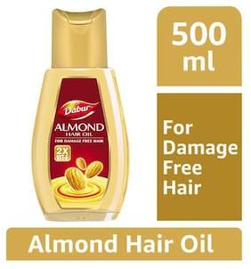Dabur Almond Hair Oil - Damage Free Hair 500 ml