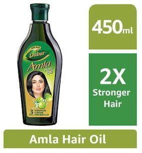 Dabur Amla Hair Oil Long  Healthy & Strong Hair 450 Ml