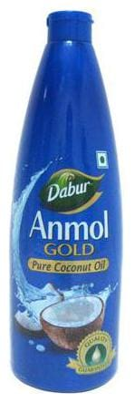Dabur Anmol Gold Pure - Coconut Oil Wide Mouth Blue 175 ml