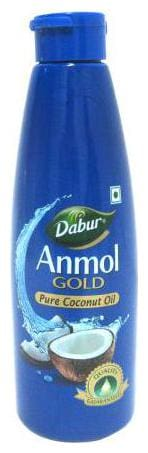 Dabur Anmol Gold Pure - Coconut Oil  Wide Mouth  Blue 500 ml