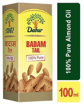 Dabur Badam Tail 100% Pure Almond Oil 100 ml
