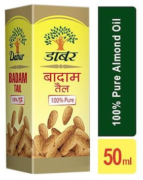 Dabur Badam Tail - 100% Pure Almond Oil 50 ml