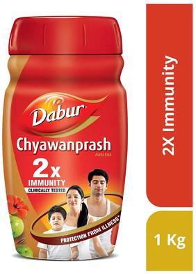 Dabur Chyawanprash-2X Immunity 1 kg(Pack of 1)