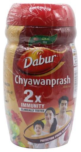 Dabur Chyawanprash - Double Immunity (Get 50 gm Dabur Honey Free) 1 kg