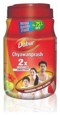 Dabur Chyawanprash - 2X Immunity 2 kg (Rs. 75 Off)