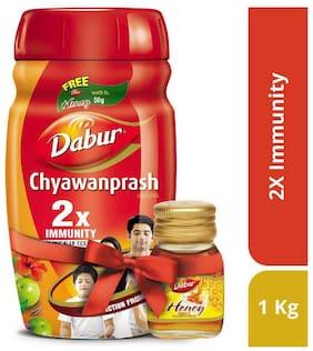 Dabur Chyawanprash 1 kg + Honey 50 g Free