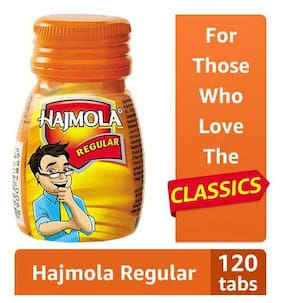 Dabur Hajmola Regular - Digestive Tablets 120 pcs