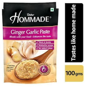 Dabur Hommade - Ginger Garlic Paste 100 gm